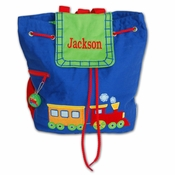 Embroidered Lil Choo-Choo Backpack