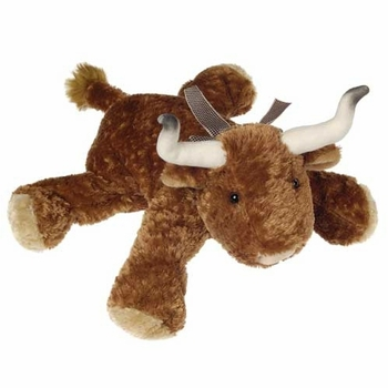 Flippy Floppy Bull Plush Toy