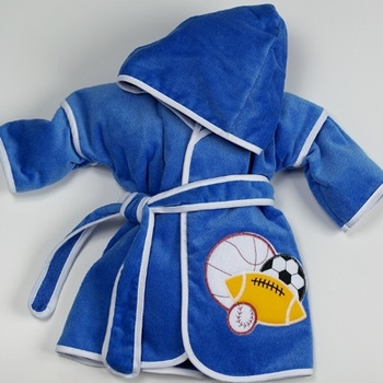 Four Sports Hooded Bath Robe (Can be personalized)