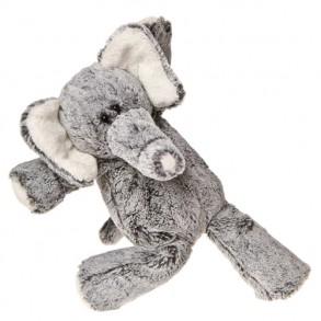 Friendly Fluffy Plush Elephant