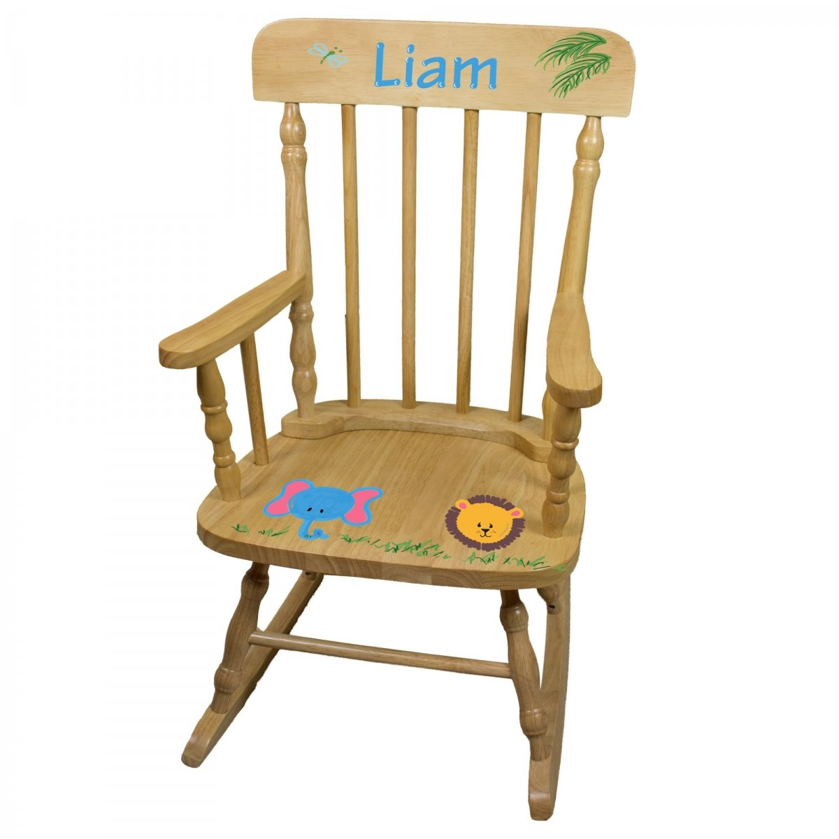 Hand Painted Personalized Childu0027s Rocking Chair | SimplyUniqueBabyGifts.com