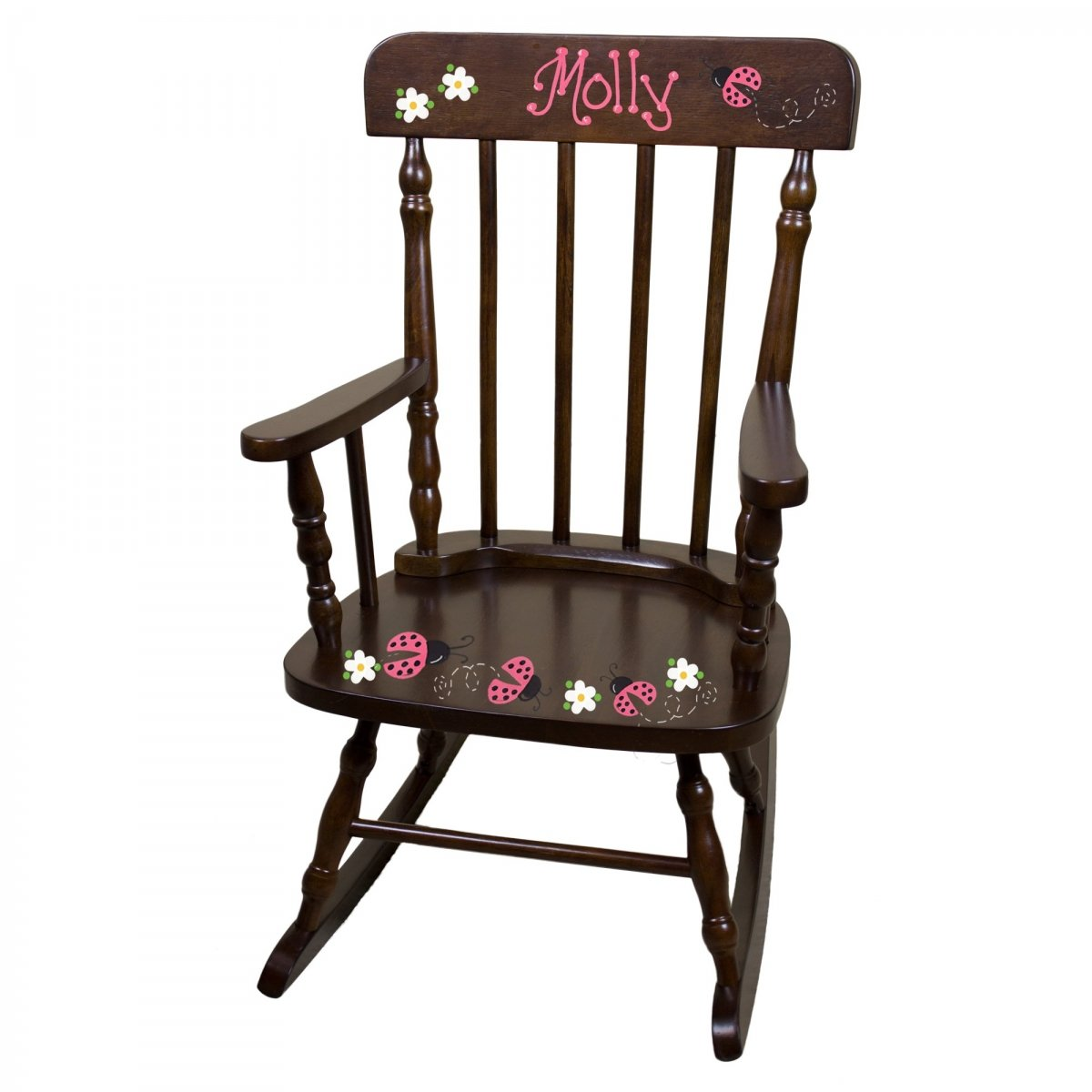 High Quality Hand Painted Personalized Childu0027s Rocking Chair | SimplyUniqueBabyGifts.com