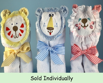 Hooded Kitty Bath Towels (Can be Personalized)
