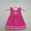 Hot Pink Corduroy Dresses (Can be personalized)