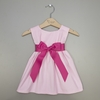 Hot Pink Corduroy Girls Dress (Can Be Personalized)