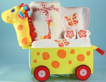 Infant Girl Jungle Pals On Wheels