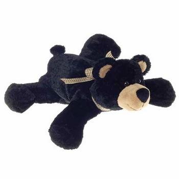Little Black Bear Floppy Plush Toy