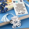 Bear-y Cute Bookmark for Boys / Girls - Choose Blue or Pink
