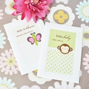 Personalized Animal Themed Wildflower Seed Packets