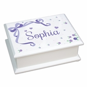 Personalized Baby Girl Jewelry Box