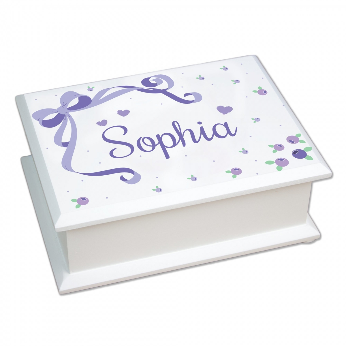 Personalized Baby Girl Jewelry Box SimplyUniqueBabyGiftscom
