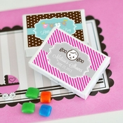 Personalized Baby Theme Gum Boxes (69 Designs)