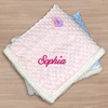Personalized Blue Sherpa Blanket
