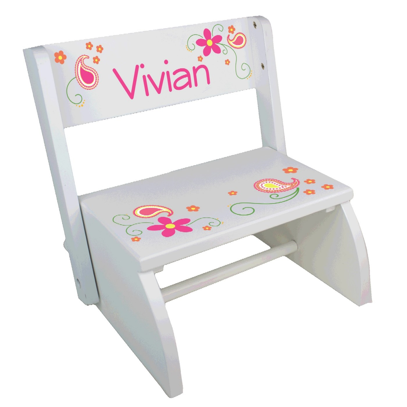 Fabulous Personalized Childrens Convertible Stools Over 70 Designs Machost Co Dining Chair Design Ideas Machostcouk