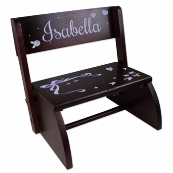 Personalized Childrens Convertible Stools (Over 70 Designs)