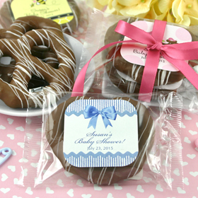 Personalized Chocolate Pretzels (28 Designs Available)
