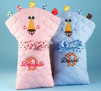 Personalized Diaper Changing Pads