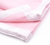 Personalized Extra Large Cotton Baby Blankets (Choose from 3 Colors)