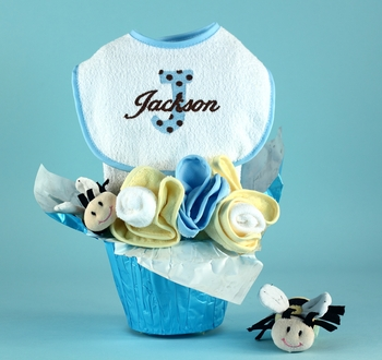 Personalized Flower Pot For Boys