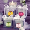 Personalized Frosted Glass Candle Holders