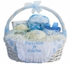 Personalized Gift From Above Basket (Pink or Blue)