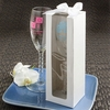 Personalized Glass Champagne Flutes