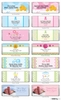 Personalized Hershey Bar Wrappers (28 Designs Available)