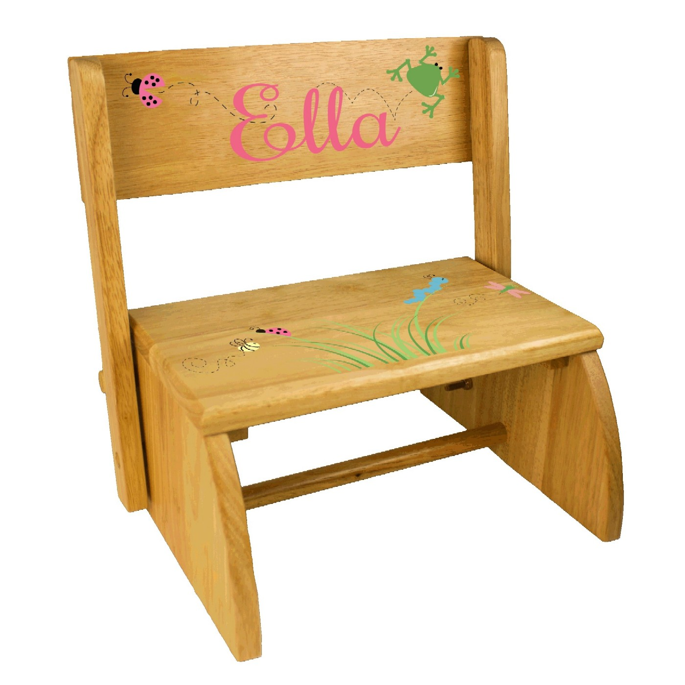 Personalized Kids Step Stools | SimplyUniqueBabyGifts.com | Free Shipping  sc 1 st  Simply Unique Baby Gifts : wooden kids step stool - islam-shia.org