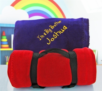 Personalized Large Fleece Blanket