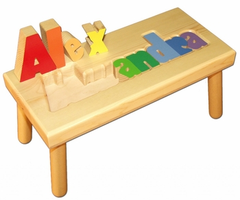 Personalized Large Name Baby Seat