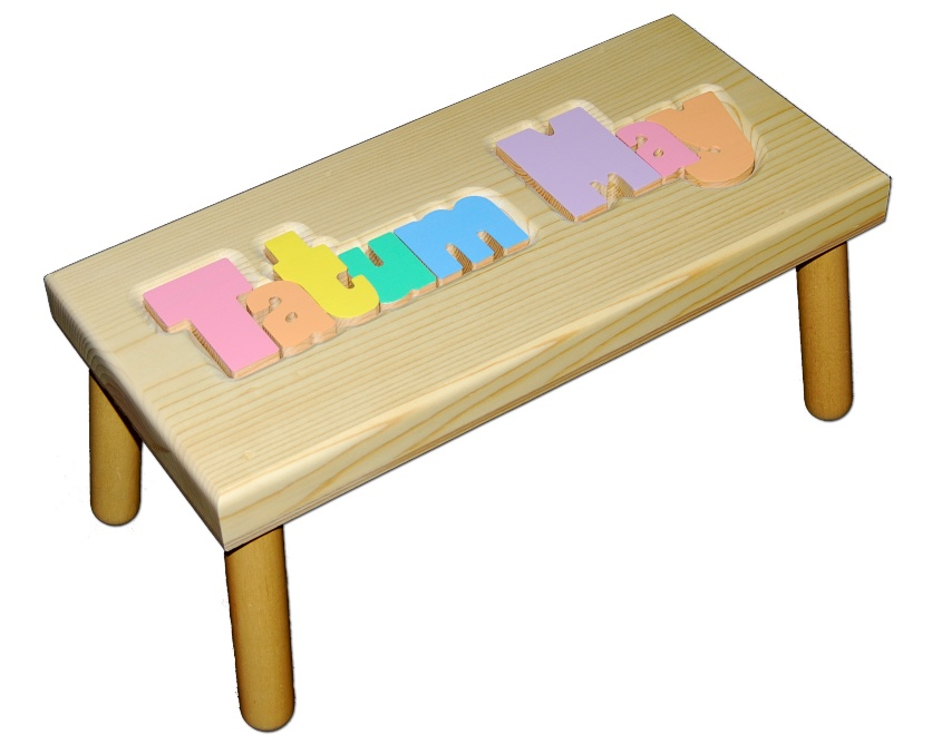Children's Personalized Stools