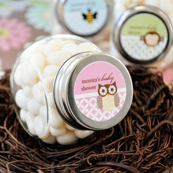 Personalized Little Critters Mini-Candy Jars