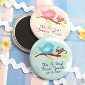 Personalized Magnets (30 Baby Themed Designs)