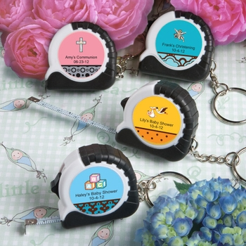 Personalized Measuring Tape Key Chains