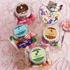 Personalized Mini Heart Candy Jars