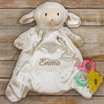Personalized Lamb Hug Buddy