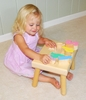 Personalized Pastel Color Baby Name Seat