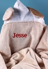 Personalized Puppy Hooded Towel Set