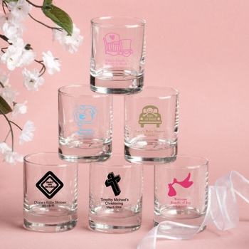 Personalized Shot Glass / Candle Holders