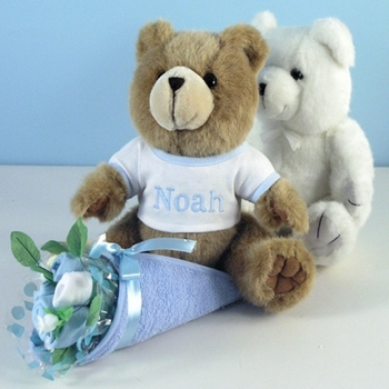 Personalized Teddy Bear Bouquet