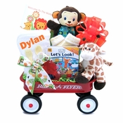 Personalized Wild Jungle Theme Mini Wagon