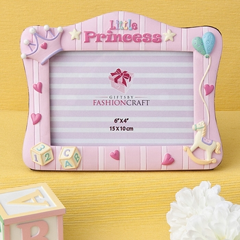 Pink Princess Photo Frame