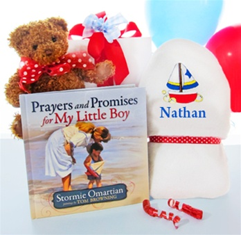 Prayers & Bears Baby Bath Towel Set