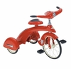 Retro Steel Junior Tricycle In Red Blue Or Pink