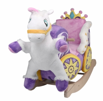 Royal Horse and Carriage Rocker