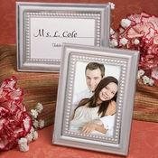 Satin Metal Photo Frames