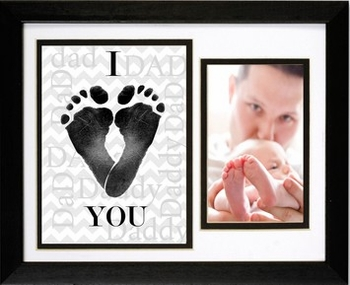 Signature Baby Footprint Frame For Daddy