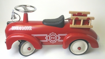 Steel Scooter Fire Truck