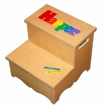 Step Up Baby Name Puzzle Seat