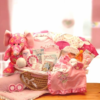 Super Sized Basket Ensemble For Girls